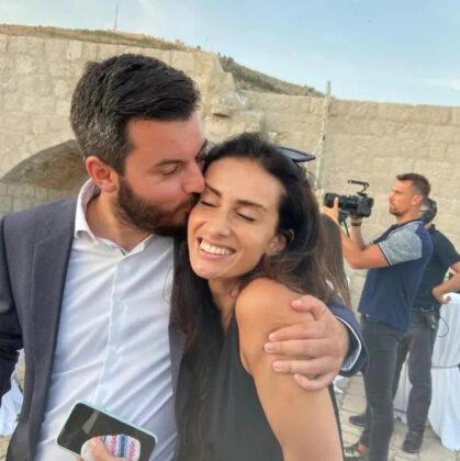 Mate Rimac i Katarina Lovrić vjenčali se u crkvi u Livnu