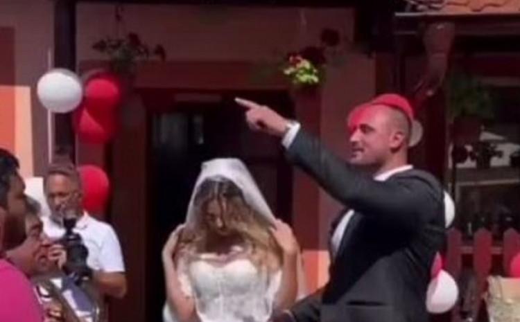 Maja Marković i Alen Hadrović upravo vjenčani: Naša bajka počinje