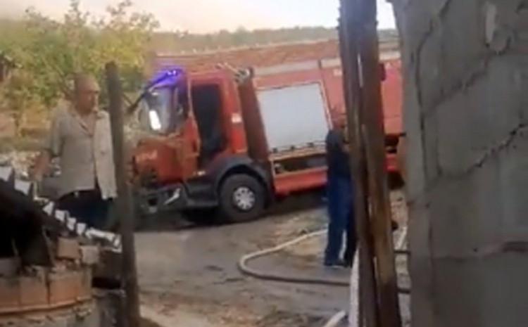 Drama u Trebinju: Zapalio vlastitu kuću, štalu i vozilo pa napao vatrogasce