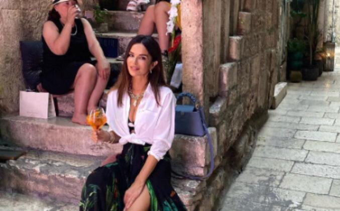 Severina prošetala Splitom u kultnim papučama